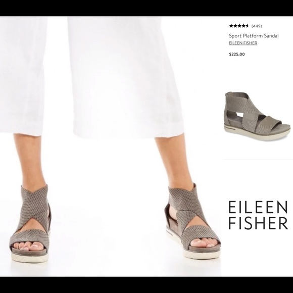 Eileen Fisher Shoes - 🇺🇸SALE! NEW🌟EILEEN FISHER Sport Platform Sandal